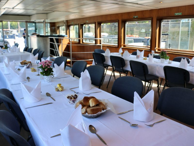 Interior View of the River Princess