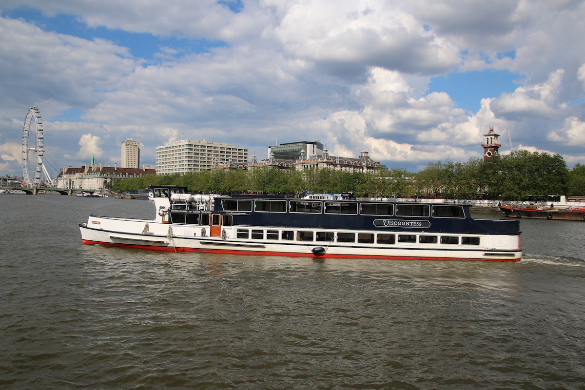 The Viscountess from Thames Cruises